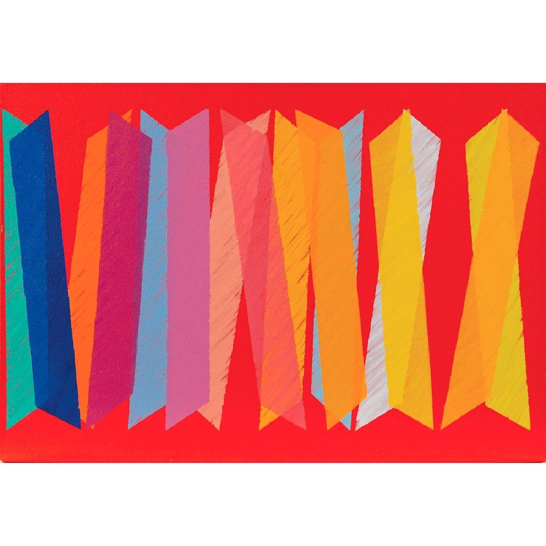 Piero Dorazio Roma 1927 - Perugia 2005 35x50 cm.