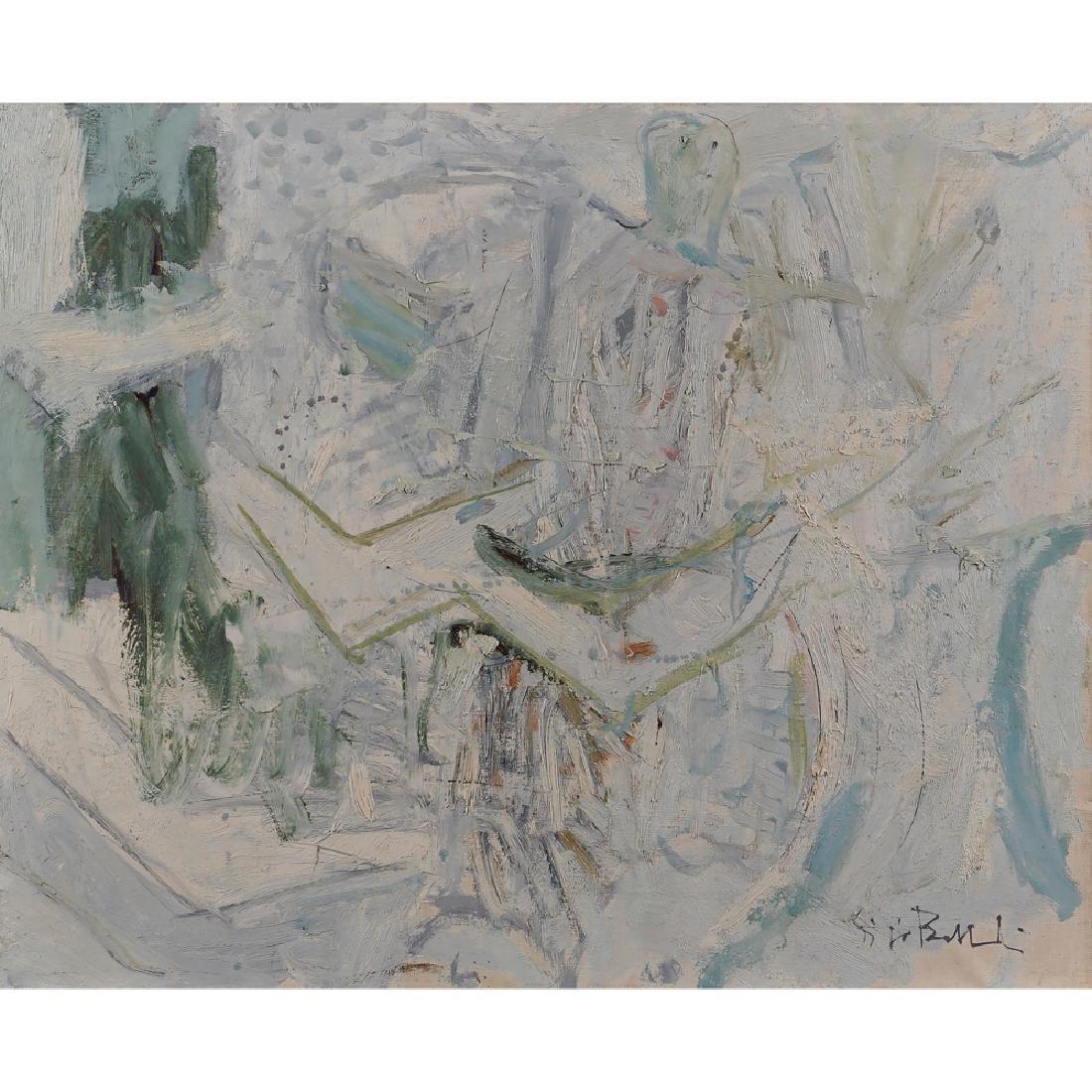 Giorgio Bellandi Milano 1931 - Como 1976 40x50 cm.