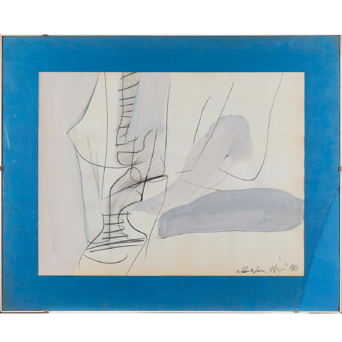Renato Volpini Napoli 1934 - Milano 2017 47x61 cm.