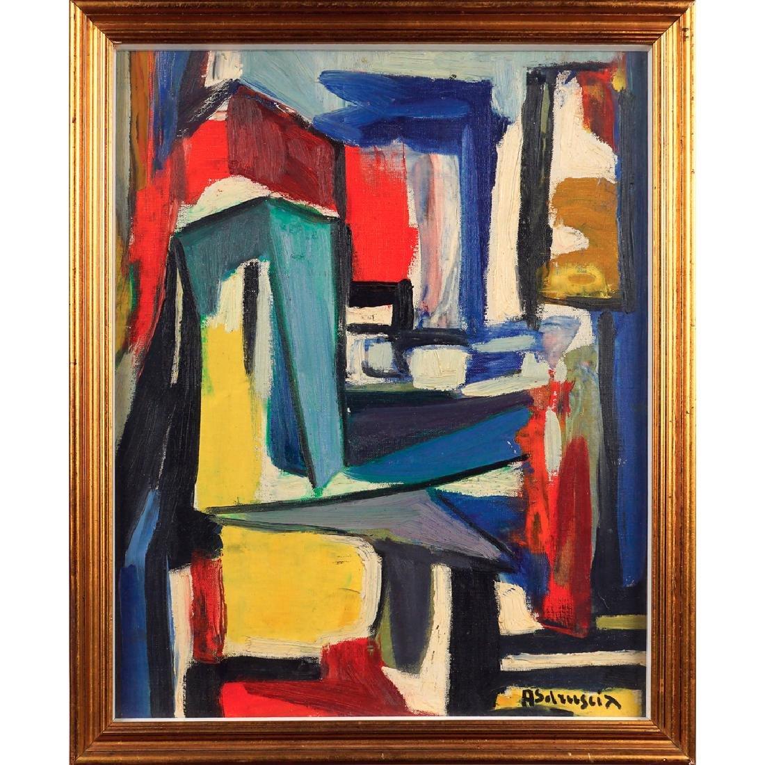Achille Sdruscia Roma 1910 - 1994 49x39 cm.