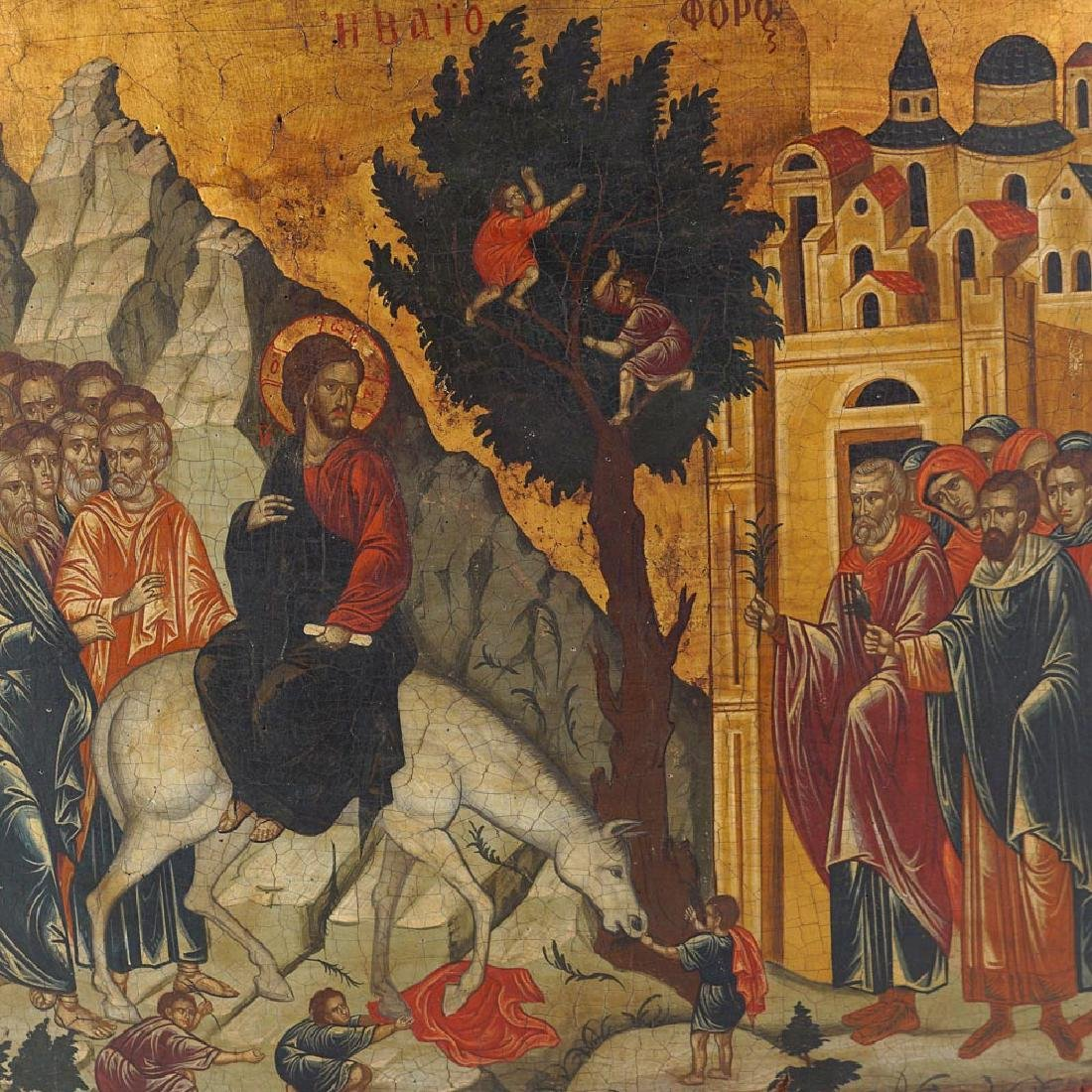 Icon with Scenes from the New Testament Russia - 3