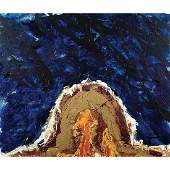 Mario Schifano Homs 1934 - Roma 1998 130X150 cm