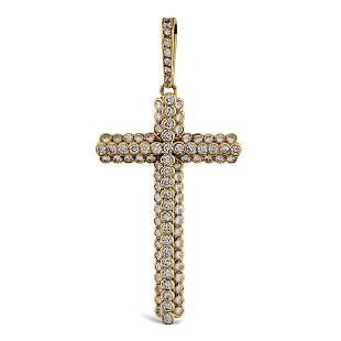 Cartier 18kt gold cross shaped pendant weight 5 gr
