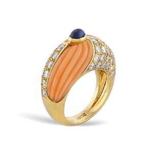 18kt gold ring weight 121 gr