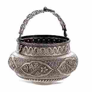 Silver bowl for Hammam Oriental art