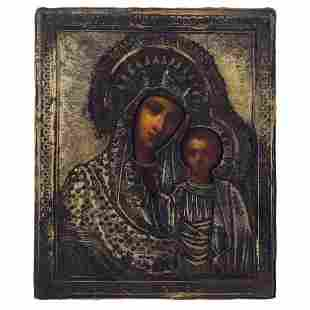 Icon depicting the Virgin of Kazan