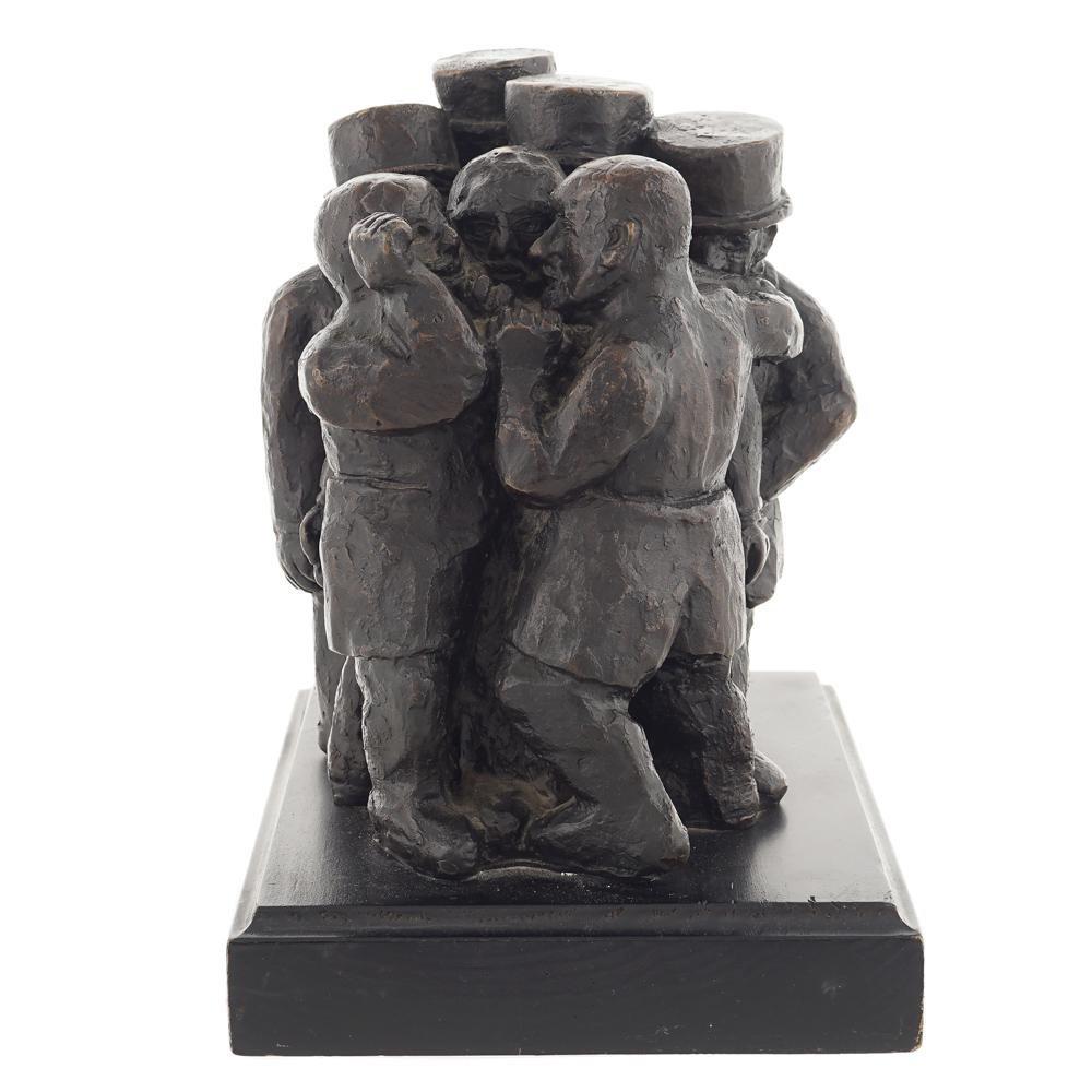 Franz Borghese Roma 1941 - 2005 h. 23 cm.