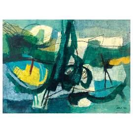 Afro Basaldella Udine 1912 - Zurigo 1976 76x102 cm.