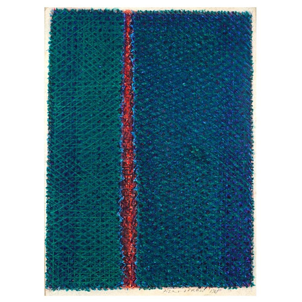 Piero Dorazio Roma 1927 - Perugia 2005 41,5x31 cm.