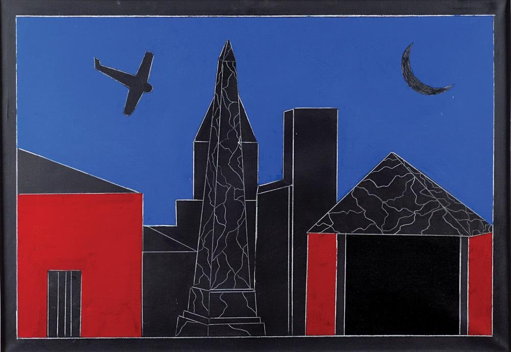 Franco Angeli Roma 1935 - 1988 70x100 cm