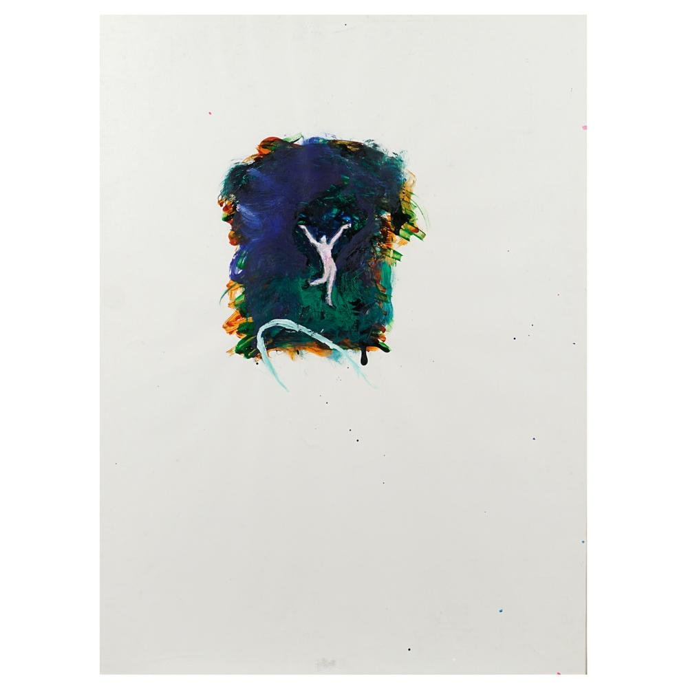 Mario Schifano Homs 1934 - Roma 1998 70x50 cm.