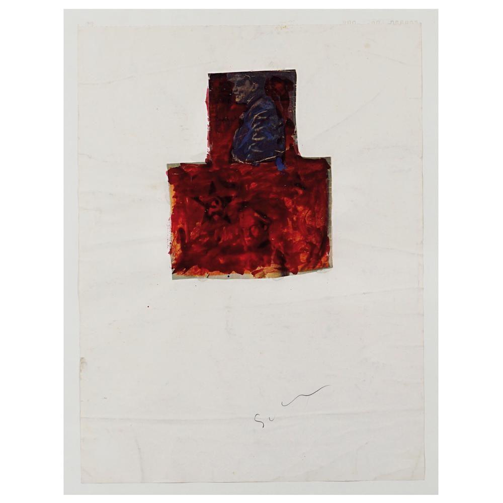 Mario Schifano Homs 1934 - Roma 1998 100x70 cm.