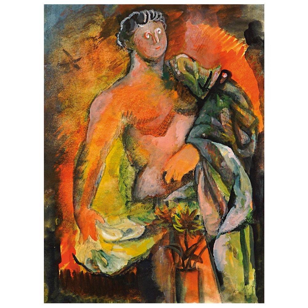 Sandro Chia Firenze 1946 31x22,5 cm.