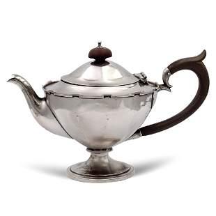 Silver teapot Birmingham 1917 weight 297 gr