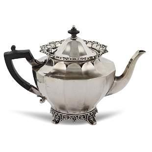 Silver teapot Sheffield 1903 weight 420 gr