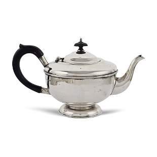 Silver teapot Birmingham 1937 weight 406 gr