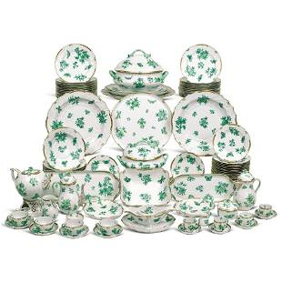 Herend porcelain table set (148) for Candida Tupini,
