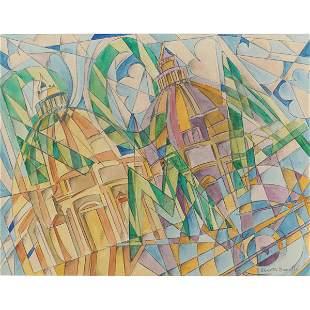 Uberto Bonetti Viareggio 1909 1993 24x31 cm