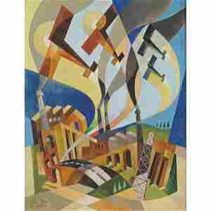 Italo Ferro Torino 1880 - 1934 44,5x35 cm.