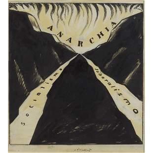Mario Sironi Sassari 1885 Milano 1961 42x40 cm
