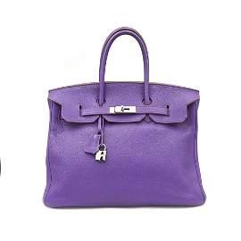 Hermès, Birkin 35 Iris year 2010