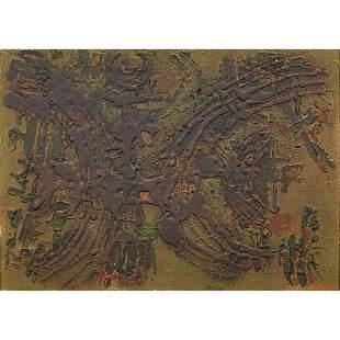 Ugo Sterpini Roma 1927 - Cavriago 2000 50x70 cm.