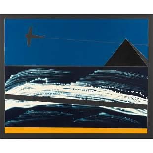 Franco Angeli Roma 1935 - 1988 130x160 cm.