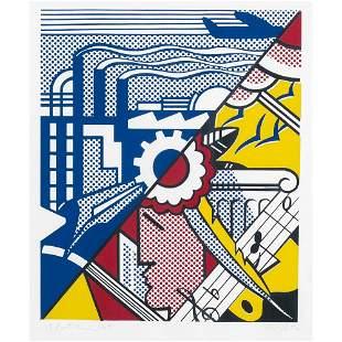 Roy Lichtenstein New York 1923 - 1997 63,5x48 cm.