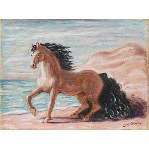 Giorgio De Chirico Volos 1888 - Roma 1978 21X28 cm.