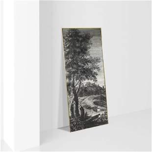 Piero Fornasetti Italy, 1950s 85x200 cm.