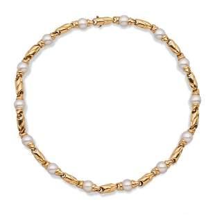 Bulgari Parentesi collection necklace weight 77,2 gr.