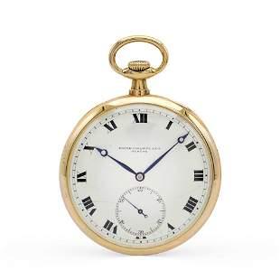 Patek Philippe & Cie, pocket watch 1930/40s weight 78,4