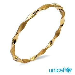 18kt gold cuff bracelet weight 6,9 gr.