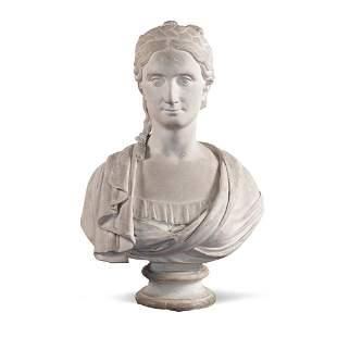 Gesso sculpture Italy, 19th century 63x43x23 cm.