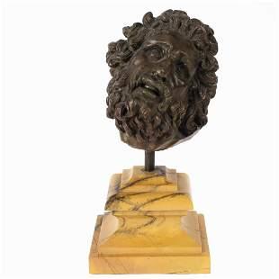 Bronze sculpture Italy, 19th-20th century h. 34 cm.