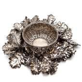 Federico Buccellati, large silver centerpiece (2)