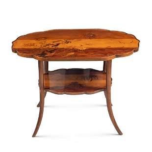 Emile Gallè, centerpiece table