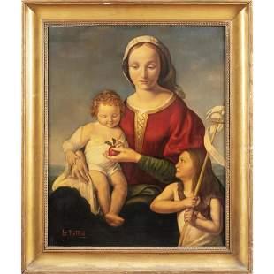 Northern Italy painter 20th century 60x49 cm.