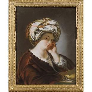 Venetian painter 18th- 19th century 47x37 cm.