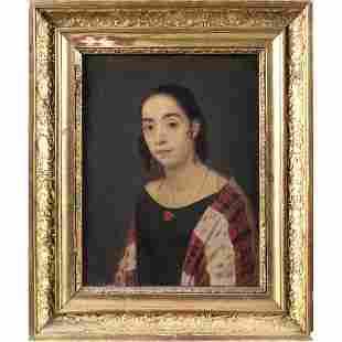 Italian painter 19th century 25x18 cm.