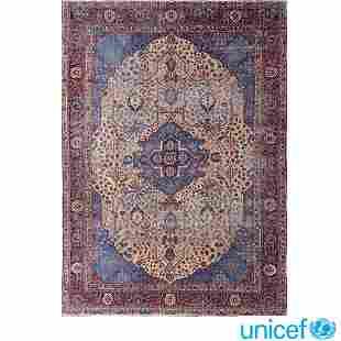 Kashan carpet Persia, early XX sec. 385x285 cm.
