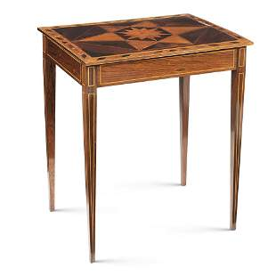 Rosewood centre table North Europe, 19th century