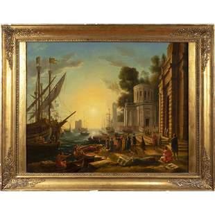 French painter XIX Century 79x98 cm
