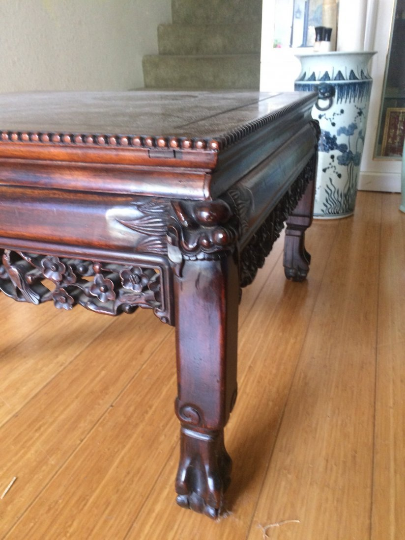 Square Rosewood Table - 3