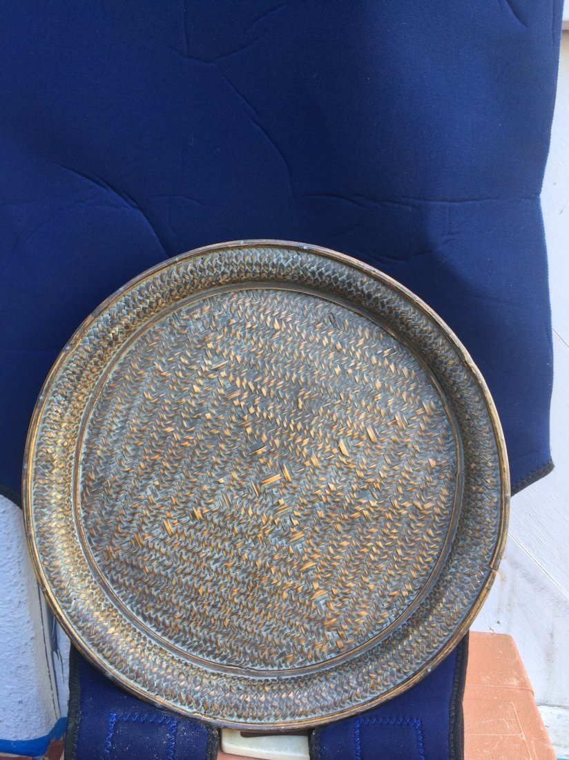 Bamboo Weaved  Basket/Plate