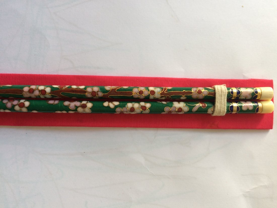 Bone Carved Chopsticks - 2