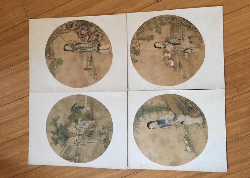 4 paintings