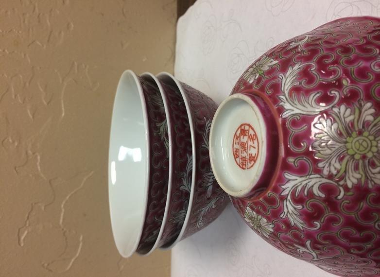 Set Of 4 Antique Soup Bowls - 2