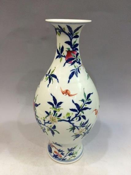 qing dynasty porcelain vase - 2
