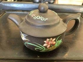 A fine Chinese Yixing Teapot